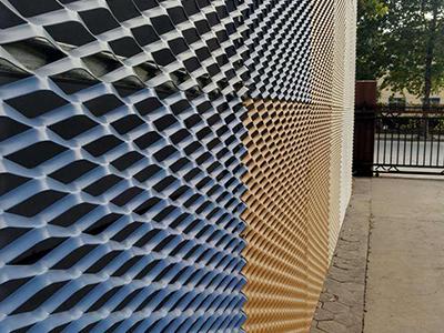 铝板网吸声墙面